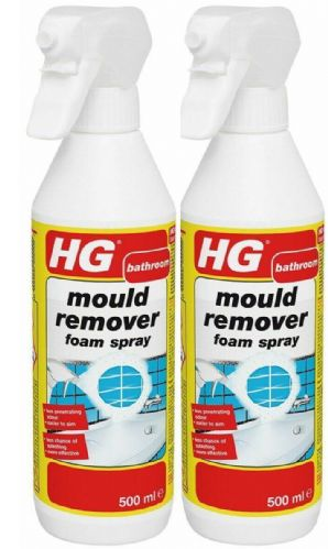 HG Mould Remover Foam Spray - 500ml Pack of 2